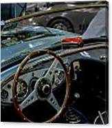 1956 Austin Healey Interior Canvas Print