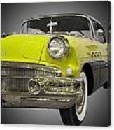 1956 Buick Special Riviera Coupe-yellow Canvas Print
