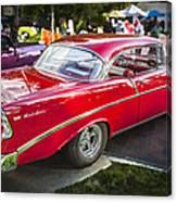 1956 Chevrolet Bel Air 210 Canvas Print