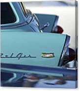 1956 Chevrolet Belair Nomad Rear End Canvas Print