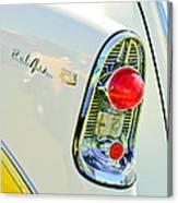 1956 Chevrolet Beliar Nomad Taillight Emblem Canvas Print