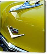 1956 Chevrolet Hood Ornament 3 Canvas Print