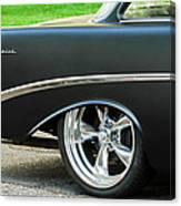 1956 Chevrolet Rear Emblem Canvas Print