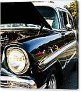 1956 Chevy Bel Air Down The Side Canvas Print