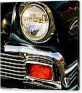 1956 Chevy Bel Air Head Light Canvas Print
