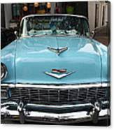 1956 Chevy Bel-air Canvas Print