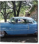 1956 Classic Cadillac Left View Canvas Print
