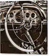 1956 Desoto Dash Canvas Print
