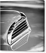 1956 Ford Thunderbird Hood Scoop -287bw Canvas Print