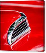 1956 Ford Thunderbird Hood Scoop -287c Canvas Print
