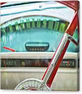 1956 Ford Thunderbird Steering Wheel -260c Canvas Print