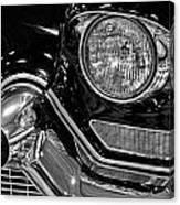 1957 Cadillac Coupe De Ville Headlight Canvas Print