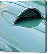 1957 Chevrolet Corvette Scoop 2 Canvas Print