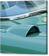 1957 Chevrolet Corvette Scoop Canvas Print