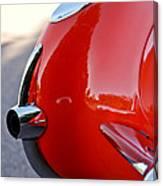 1957 Chevrolet Corvette Taillight Canvas Print