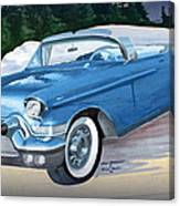 1957 Chevy Convertible Canvas Print