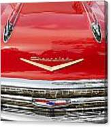 1957 Chevy Front End Canvas Print