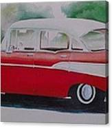 1957 Chevy Canvas Print