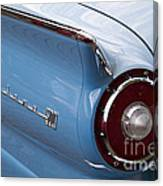1957 Fairlane 500 Canvas Print