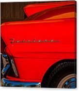 1957 Ford Fairlane Emblem -359c Canvas Print