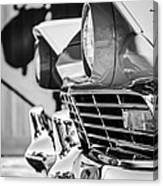 1957 Ford Fairlane Grille -205bw Canvas Print