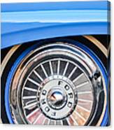 1957 Ford Fairlane Wheel Canvas Print