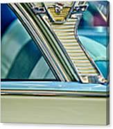 1957 Mercury Monterey Sedan Emblem Canvas Print