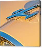 1957 Oldsmobile Hood Ornament 6 Canvas Print