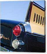 1957 Studebaker Golden Hawk Supercharged Sports Coupe Taillight Emblem Canvas Print