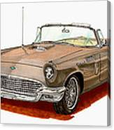 1957 Thunderbird Canvas Print