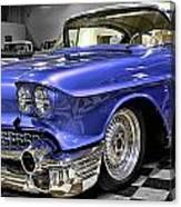 1958 Cadillac Deville Canvas Print