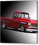 1958 Chevrolet Apache Pick Up Truck Canvas Print