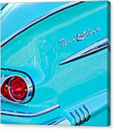 1958 Chevrolet Belair Taillight 2 Canvas Print