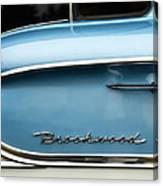 1958 Chevrolet Brookwood Station Wagon Canvas Print