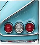 1958 Chevrolet Impala Taillights  Canvas Print