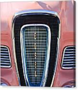 1958 Edsel Pacer Grille Emblem Canvas Print