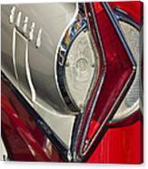 1958 Edsel Wagon Tail Light Canvas Print