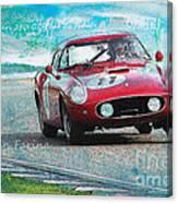 1958 Ferrari 250 Gt Tour De France Canvas Print