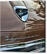1958 Ford Fairlane 500 Skyliner Canvas Print
