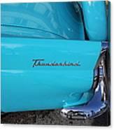 1958 Ford Thunderbird Detail Canvas Print