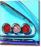 1958 Impala Palm Springs Canvas Print