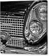 1958 Lincoln Continental Headlight Canvas Print