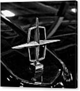 1958 Lincoln Continental Hood Ornament Canvas Print