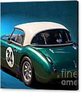 1959 Austin Healey 3000 Mk1 Canvas Print