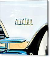 1959 Buick Electra Emblem Canvas Print