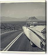 1959 Cadillac Eldorado Convertible Ambrotype Canvas Print