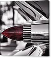 1959 Cadillac Eldorado Tailight Canvas Print