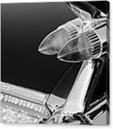 1959 Cadillac Eldorado Taillight -075bw Canvas Print
