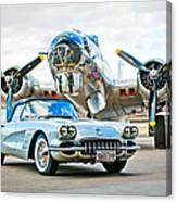 1959 Chevrolet Corvette Canvas Print