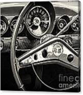 1959 Chevrolet Dash Canvas Print